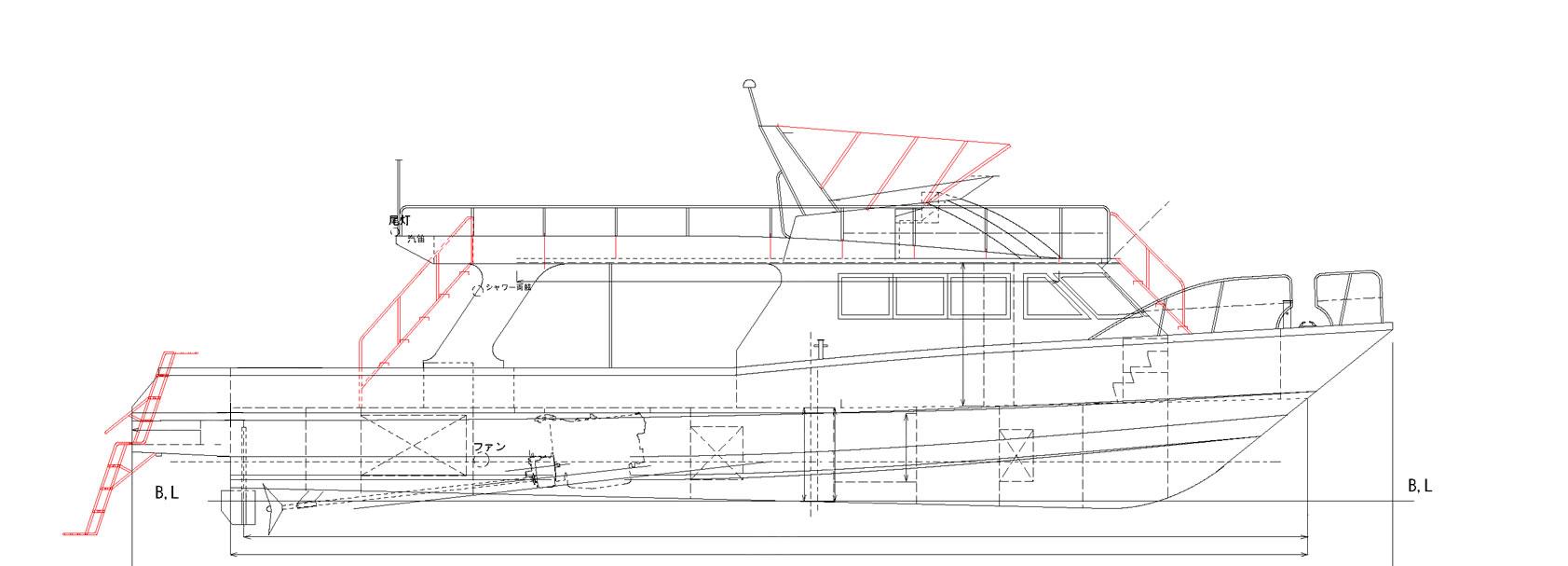 新造ダイビング船