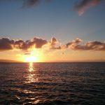 透明度30M越えの竹富黒島方面。 おまけでシンクロナイズドスイミング実演です。